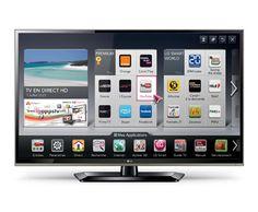 "LG smartTV LED Full HD LG 42 Un écran Smart TV riche en contenus ! 42"" (107cm) || Full HD | Smart TV |  | Smart Share |   SMART TV  HDTV 1080p  LED"