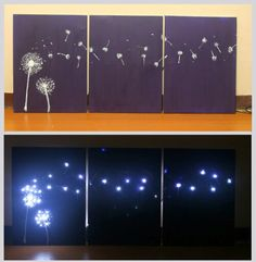 Dandelion Paintings