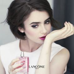 Lily Collins for Lancôme//Behind the Scenes