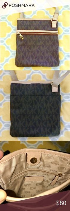 851a32fa29ba AUTHENTIC MK CROSSBODY BAG Authentic MK leather crossbody bag. In great  condition Michael Kors Bags