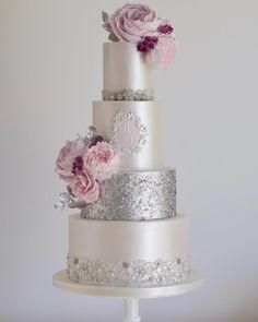 Wedding Cake Inspiration – Cotton & Crumbs – MODwedding – Famous Last Words Creative Wedding Cakes, Elegant Wedding Cakes, Elegant Cakes, Beautiful Wedding Cakes, Gorgeous Cakes, Wedding Cake Designs, Pretty Cakes, Amazing Cakes, Perfect Wedding