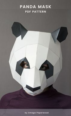 Maske Schwanz Tier Natur Fancy Handschuhe Kostüme Set Panda Bär Wolf Löwe