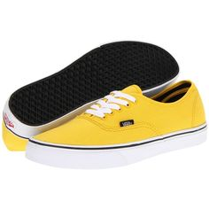 Vans Authentic ($36) ❤ liked on Polyvore featuring shoes, sneakers, vans, chaussures, sapatos, sneakers & athletic shoes, slim shoes, vans shoes, canvas sneakers and vans trainers