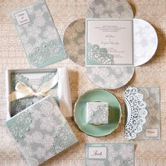 How to make your own tiffany blue wedding invitations and stationery