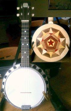 P.A. Chittenden Ukulele Banjo (poor pic but I like the rear inlay pattern) --- https://www.pinterest.com/lardyfatboy/