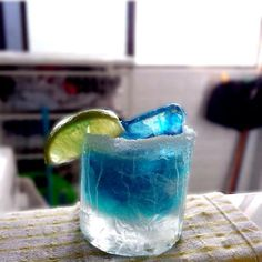 BREAKING BAD MARGARITA 4 oz. (120 ml) Tequila 2 oz. (60 ml) Triple Sec 2 oz. (60 ml) Blue Curacao 2 oz. (60 ml) Fresh Lime Juice 2 tsp Sugar