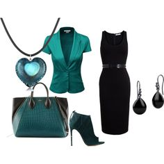 """""""Untitled #367"""" by bsimon-1 on Polyvore - Love the green jacket"""
