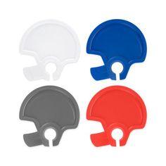 Football Helmet Party Plates (Set of 4)