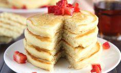 Recettes : les pancakes minceur version sucrée