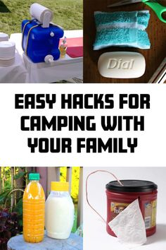 If you are going to take the whole family camping, you need to have your ducks in a row and be super organized if you want to do it and have fun.   Here are some easy hacks that will make camping with the family a little more fun.   #camping #outdoors #familytime Camping And Hiking, Family Camping, Camping Hacks, Easy Hacks, Camping Outdoors, Good And Cheap, Ducks, More Fun, How To Make