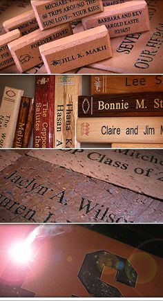 We offer a broad range of laser engraved products that will suit any donor recognition or corporate need. Whether on the ground, on a wall, or on a boulder you can be assured that your supporters will be honored with the highest of quality . We maintain excellent relationships with manufacturers and distributors across the...  Read More