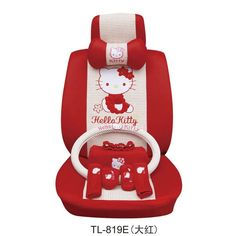Hello Kitty Auto Car Seat Cover Cushion Set Red 19pc 24-in Seat Covers & Supports from Automobiles & Motorcycles on Aliexpress.com $178.99 Hello Kitty Favors, Hello Kitty Car, Hello Kitty Collection, Seat Covers, Car Accessories, Beetle, Dream Cars, Baby Car Seats, Ms