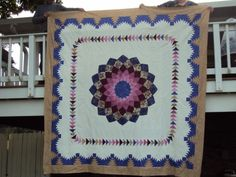 108 X 108 Big Quilt ready to be quilted