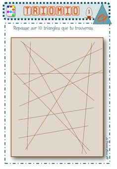 Triangles, Le Triangle, Cycle 3, Maths, Art, Art Background, Kunst, Performing Arts