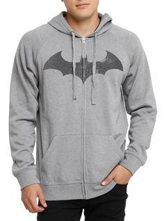DC Comics Batman Hush Logo Zip Hoodie | Hot Topic