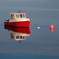 Tranquil Waters, Nova Scotia | by kevinebrine, via Flickr