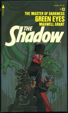 The Shadow 13 - Green Eyes - Steranko cover