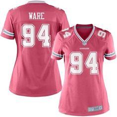 DeMarcus Ware Dallas Cowboys Ladies Game Jersey - Pink
