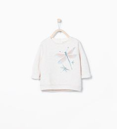 ZARA - KIDS - Dragonfly appliqué sweatshirt