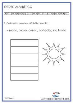 9 Ideas De Orden Alfabético Orden Alfabetico Actividades Para Lectoescritura Primeros Grados