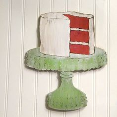 Kitchen Cake Sign Southern Red Velvet Cake on by SlippinSouthern, $59.00