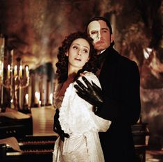 Pin for Later: 30 of Our Favorite Spooky Movie Couples The Phantom and Christine, The Phantom of the Opera Opera Ghost, Scottish Actors, Movie Couples, Gerard Butler, Romantic Movies, Movie Costumes, Phantom Of The Opera, Scary Movies, Musical Theatre