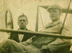 Horace Kearny ~ early aviator ready for flight ~ 1910