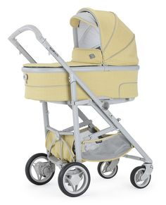 Bebecar Spot Tech in Sunburst.  The new SpotTech is the only pushchair you'll ever need. It combines the compact folding of a lightweight stroller with the comfort of a luxury pram.