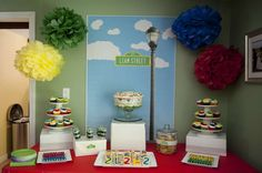 Sesame Street Birthday Party Ideas | Photo 1 of 39 | Catch My Party