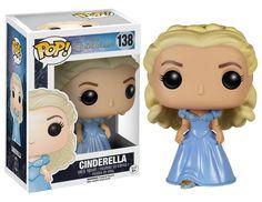 Amazon.com: Funko POP Disney: Cinderella (Live Action) - Cinderella Vinyl Figure: Funko Pop! Disney:: Toys & Games