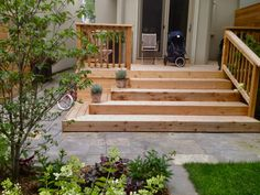 Exteriors For Living: Leaside Garden Room 2019 Exteriors For Living: Leaside Garden Room The post Exteriors For Living: Leaside Garden Room 2019 appeared first on Deck ideas. Porch Stairs, Front Stairs, Outdoor Stairs, Deck With Stairs, Patio Steps, Front Porch Steps, Front Deck, Corner Deck, Patio Deck Designs