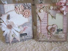 Vintage banner card.. Vintage Banner, Vintage Cards, Banner Ideas, Card Ideas, Greeting Cards Handmade, Decorative Boxes, Frame, Nest, How To Make