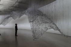 Yasuaki Onishi, reverse of volume (2009), Aomori Contemporary Art Centre, Aomori, Japan