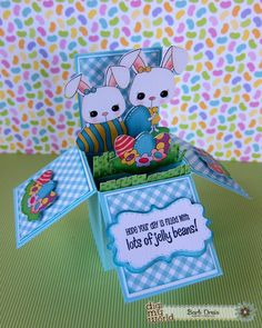 BugBites: Easter Box Card DMW Design Day!