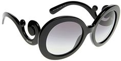 Prada Sunglasses  PR27NS  Frame Black Lens Gray Gradient * See this great product. (Note:Amazon affiliate link)