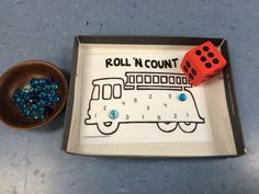 Fire truck roll and count