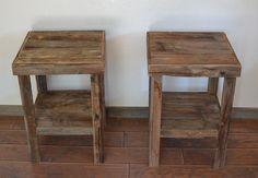 End tables--use these as inspiration for the ones Adam will make for us. :)