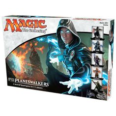 This looks like fun. Magic: the Gathering Arena of the Planeswalkers Board Game - Magic: The Gathering from Magic Madhouse UK