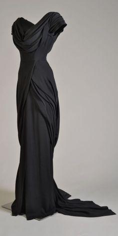 Costume designed by Walter Plunkett for Katharine Hepburn in Adam's Rib (1949).