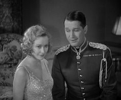 Miriam Hopkins & Maurice Chevalier in The Smiling Lieutenant (1931)
