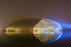 The Egg, more formally known as the National Centre for the Performing Arts (NCPA) is located in Beijing, China.