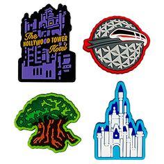 Walt Disney World Park Icons MagicBandits Set, ''Four Parks, One World'', Item No. 7501055890386P