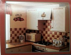 Superb Kitchen With The Popular Apple