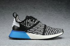 5d418ca0e 2018 Discount Adidas NMD XR2 PK BB2835 Core Black White Blue Shoe