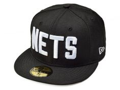 New Era Brooklyn Nets NBA Hardwood Classics Stars and Stripes 59FIFTY Cap Black Size 7 14 >>> Check out this great product.