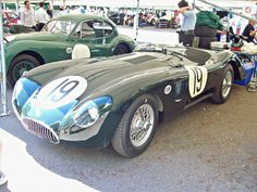 284 Jaguar C Type Low Drag (1952) Engine 3442cc S6 Twin Cam. Produced for Le Mans, to increase speed on the Mulsanne Straight. Jaguar E Type, Jaguar Cars, Jaguar Xk, My Dream Car, Dream Cars, Automobile, British Sports Cars, Car In The World, Le Mans
