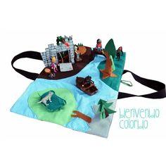 ELFENLAND - Spiellandschaft zum Mitnehmen, Kreativ-Ebook - farbenmix Online-Shop - Schnittmuster, Anleitungen zum Nähen