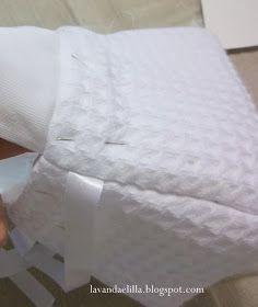 Lavanda e Lillà: Tutorial Cestino con Lavette Vide Poche, Mattress, Pillows, Furniture, Hobby, Home Decor, Tutorials, Crochet, Baby Doll Clothes
