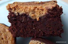 Erdnussbutter-Brownies - Schokohimmel Mini Brownies, Blondie Brownies, Kakao Brownies, Low Carb Shakes, Brownie Bar, Cookies And Cream, Chocolate Lovers, Indian Food Recipes, Bakery