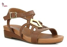 MEPHISTO GIANA - Sandales / Nu-pieds - Camel - Femme - T. 37 - Chaussures mephisto (*Partner-Link)
